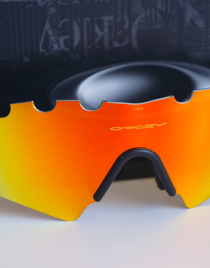Lentes de repuesto OAKLEY VENTED M-Frame SWEEP Color FIRE IRIDIUM Cod. 06-654