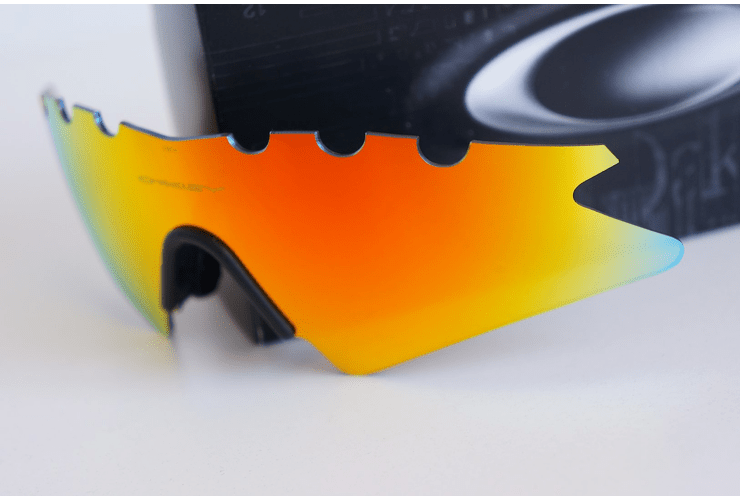 Lentes de repuesto OAKLEY VENTED M-Frame SWEEP Color FIRE IRIDIUM Cod. 06-654 - Image 4