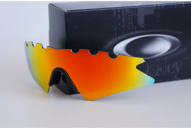 Lentes de repuesto OAKLEY VENTED M-Frame SWEEP Color FIRE IRIDIUM Cod. 06-654 - Image 1
