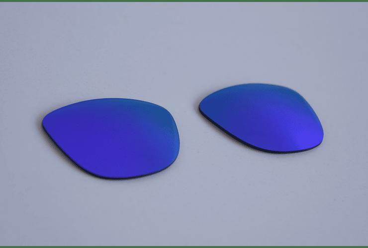 Lentes de repuesto OAKLEY FROGSKINS Color VIOLET IRIDIUM Cod. B004 - Image 5