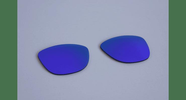 Lentes de repuesto OAKLEY FROGSKINS Color VIOLET IRIDIUM Cod. B004 - Image 7