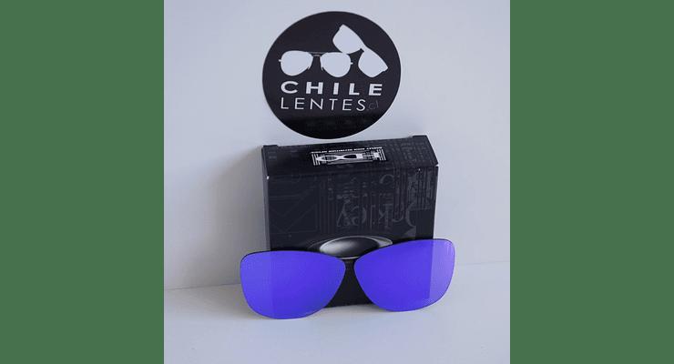 Lentes de repuesto OAKLEY FROGSKINS Color VIOLET IRIDIUM Cod. B004 - Image 2