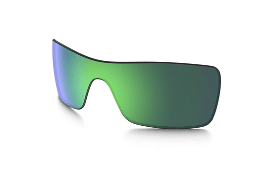 Lente de repuesto/reemplazo Oakley Batwolf color Jade iridium