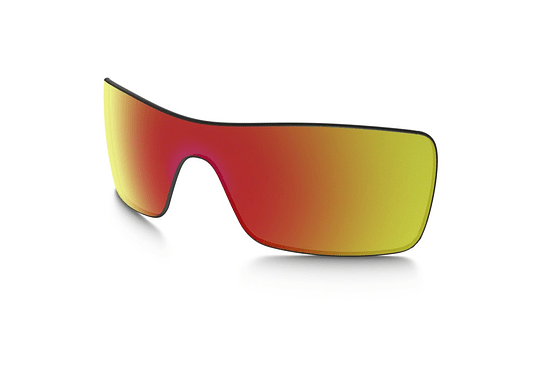 Lente de repuesto/reemplazo Oakley Batwolf color Ruby iridium