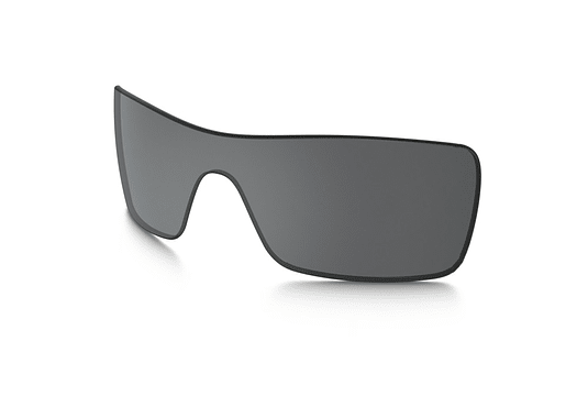 Lente de repuesto/reemplazo Oakley Batwolf color Black iridium