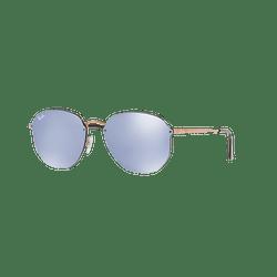 Ray Ban Blaze Hexagonal Copper lente Blue / Silver Mirror cod. RB3579N 90351U 58
