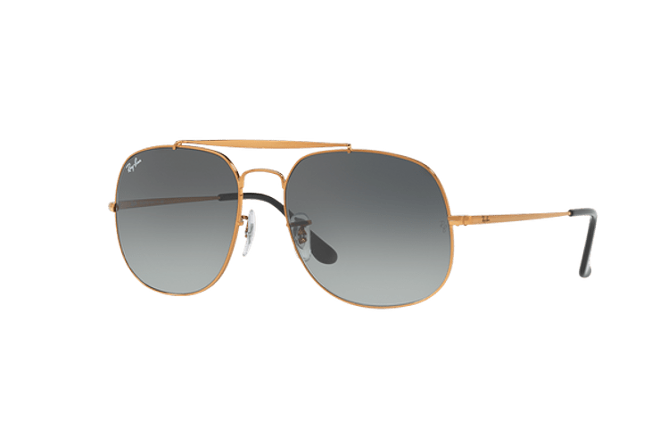 Ray Ban General Bronze lente Green / Grey cod. RB3561 197/71 57 - Image 1
