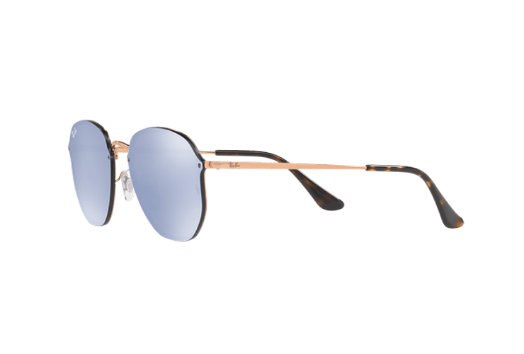 Ray Ban Blaze Hexagonal Copper lente Blue / Silver Mirror cod. RB3579N 90351U 58 - Image 2