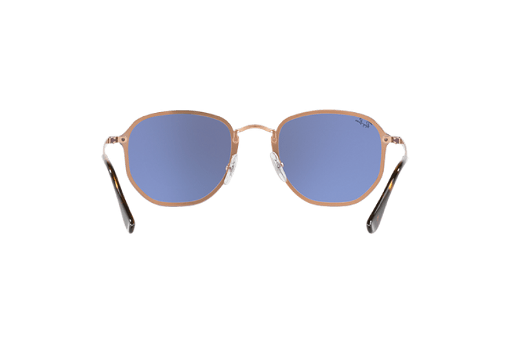 Ray Ban Blaze Hexagonal Copper lente Blue / Silver Mirror cod. RB3579N 90351U 58 - Image 6