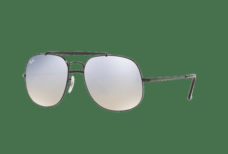 Ray Ban General Black lente Gradient Mirror Silver cod. RB3561 002/9U 57 - Image 1