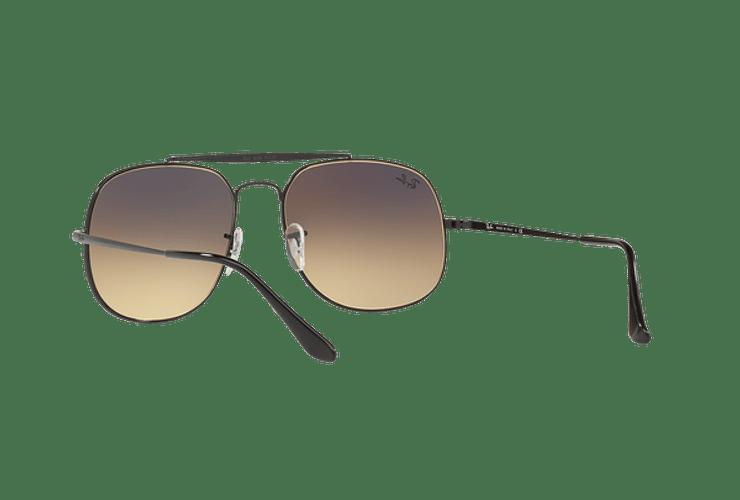 Ray Ban General Black lente Gradient Mirror Silver cod. RB3561 002/9U 57 - Image 5
