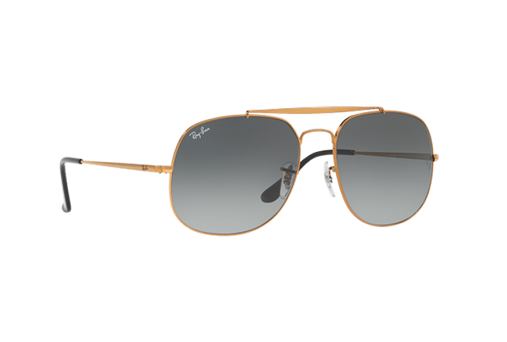 Ray Ban General Bronze lente Green / Grey cod. RB3561 197/71 57 - Image 11