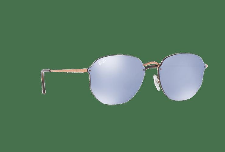 Ray Ban Blaze Hexagonal Copper lente Blue / Silver Mirror cod. RB3579N 90351U 58 - Image 11