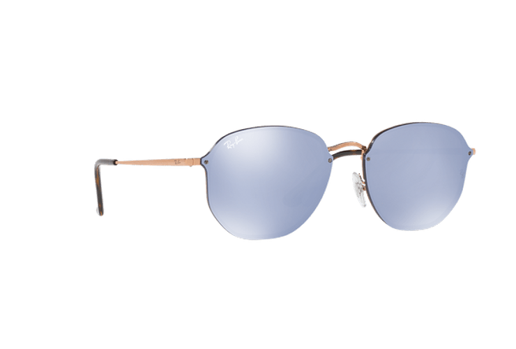 Ray Ban Blaze Hexagonal Copper lente Blue / Silver Mirror cod. RB3579N 90351U 58 - Image 11