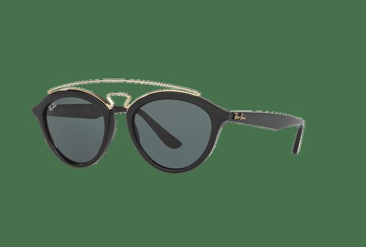 Ray Ban Gatsby II Black lente Dark Green cod. RB4257 601/71 53 - Image 1