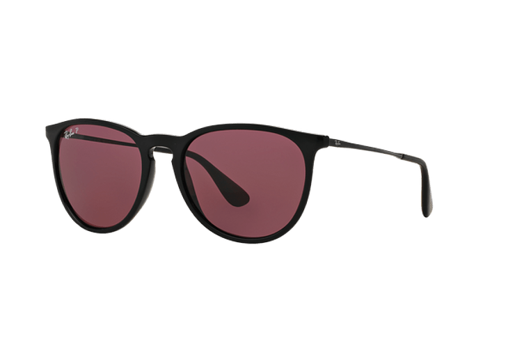 Ray Ban Erika Black lente Purple Polarized cod. RB4171 601/5Q 54 - Image 1