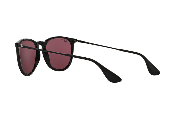 Ray Ban Erika Black lente Purple Polarized cod. RB4171 601/5Q 54 - Image 4