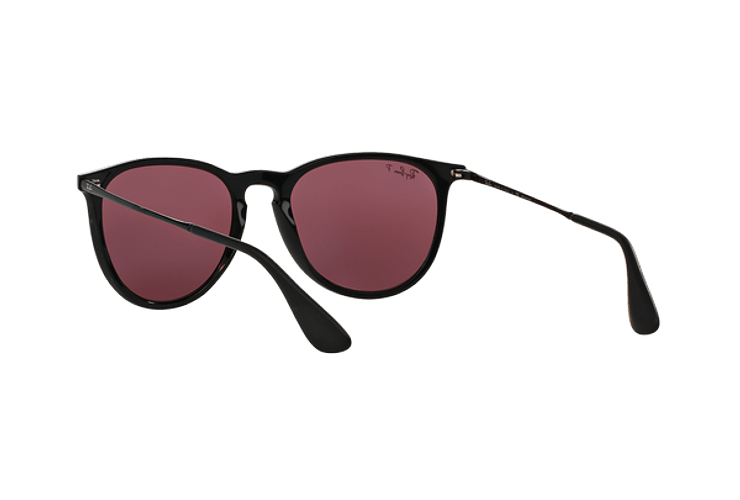 Ray Ban Erika Black lente Purple Polarized cod. RB4171 601/5Q 54 - Image 5