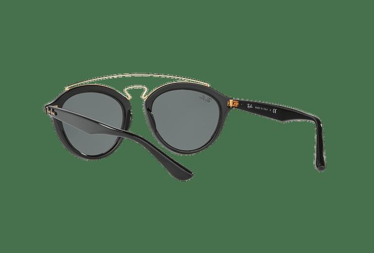 Ray Ban Gatsby II Black lente Dark Green cod. RB4257 601/71 53 - Image 5