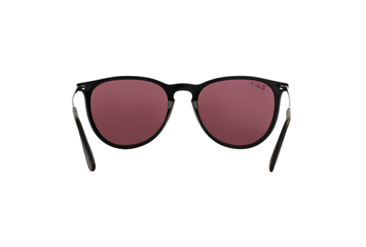 Ray Ban Erika Black lente Purple Polarized cod. RB4171 601/5Q 54 - Image 6