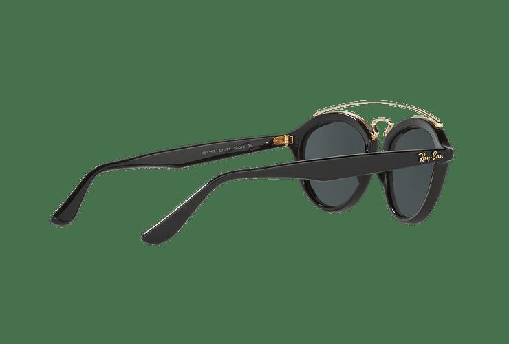 Ray Ban Gatsby II Black lente Dark Green cod. RB4257 601/71 53 - Image 8