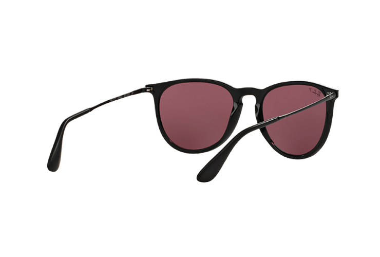Ray Ban Erika Black lente Purple Polarized cod. RB4171 601/5Q 54 - Image 7