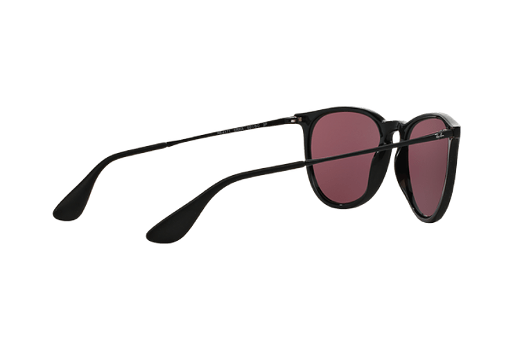 Ray Ban Erika Black lente Purple Polarized cod. RB4171 601/5Q 54 - Image 8