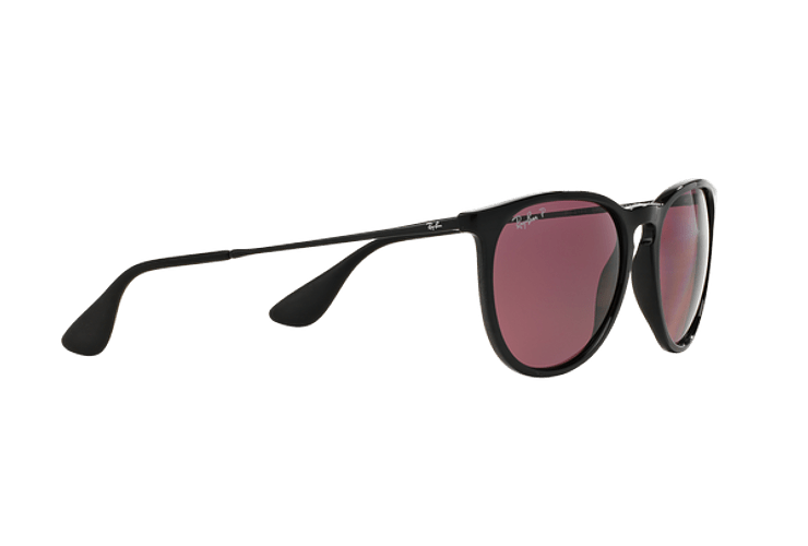 Ray Ban Erika Black lente Purple Polarized cod. RB4171 601/5Q 54 - Image 10