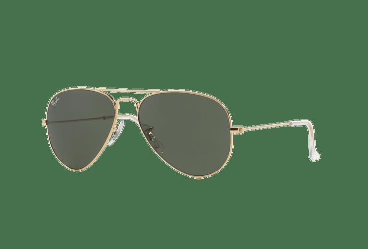 Ray-Ban Aviador Gold lente Green / Grey cod. RB3025 W3234 55 - Image 1