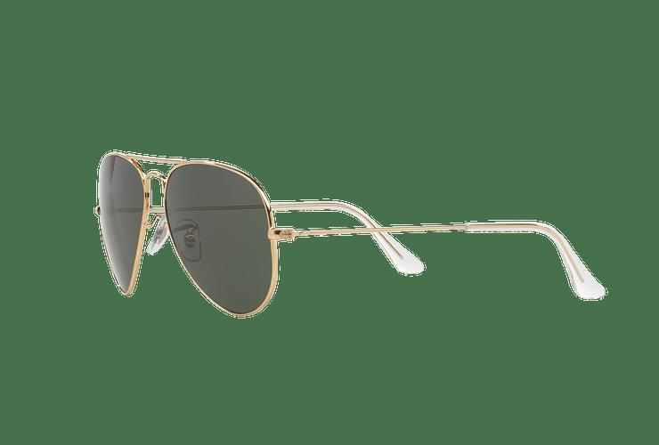 Ray-Ban Aviador Gold lente Green / Grey cod. RB3025 W3234 55 - Image 2