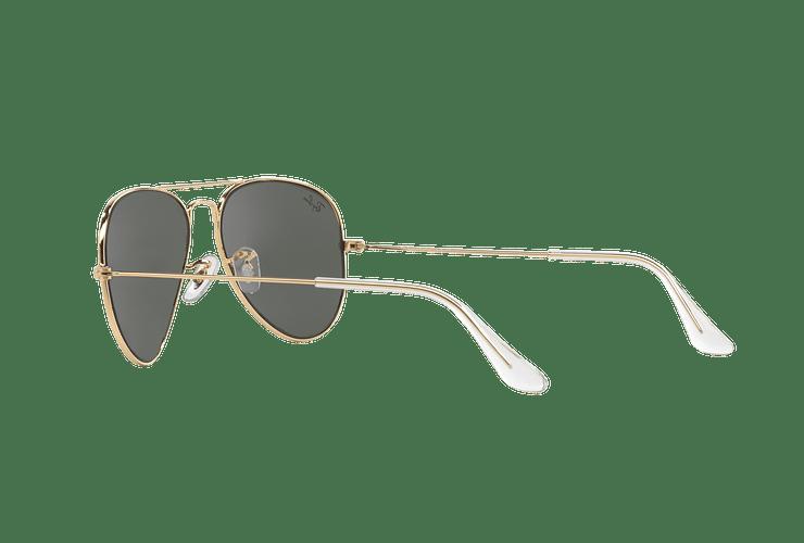 Ray-Ban Aviador Gold lente Green / Grey cod. RB3025 W3234 55 - Image 4