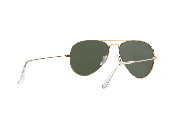 Ray Ban Aviador Gold lente Green / Grey cod. RB3025 W3234 55 - Image 7