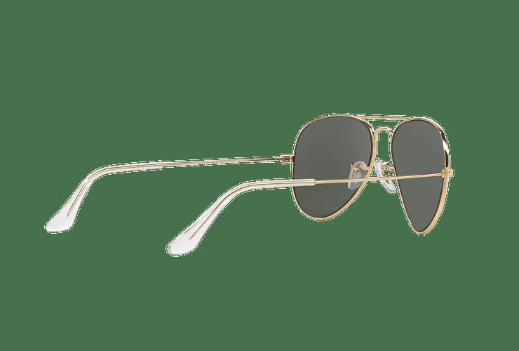 Ray Ban Aviador Gold lente Green / Grey cod. RB3025 W3234 55 - Image 8
