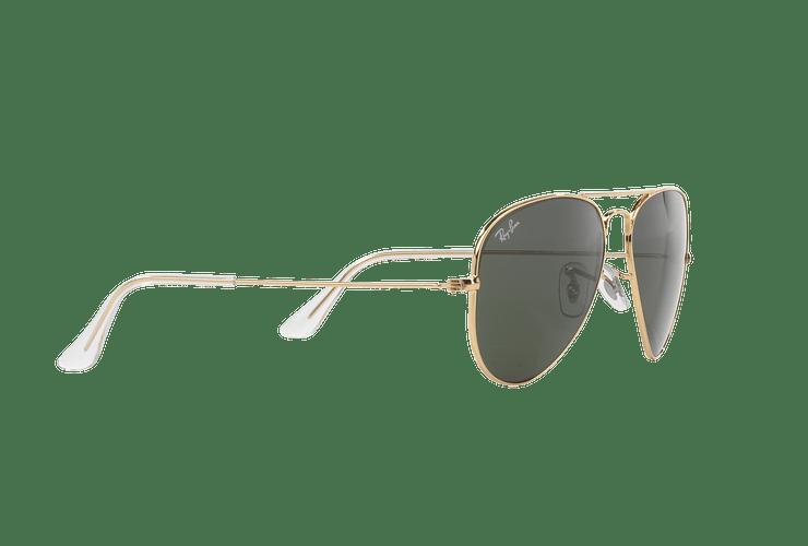 Ray-Ban Aviador Gold lente Green / Grey cod. RB3025 W3234 55 - Image 10