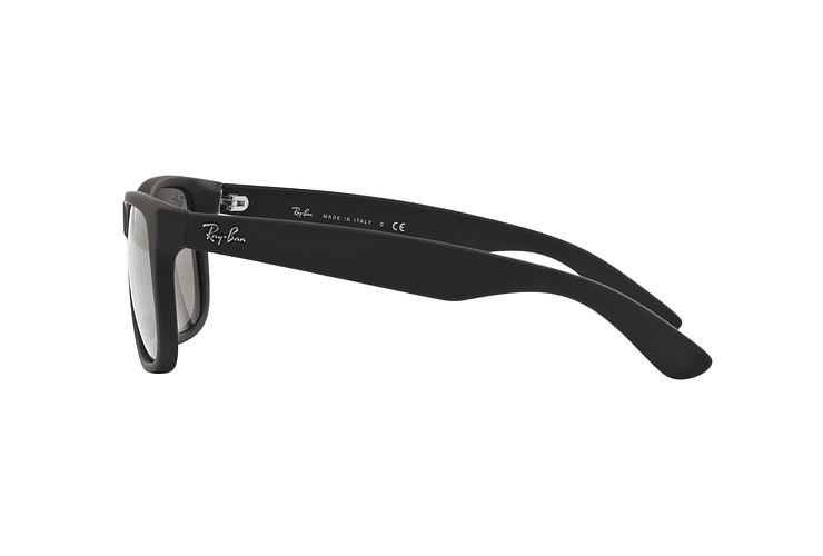 Ray Ban Justin Rubber Black lente Mirror Gold cod. RB4165 622/5A 54 - Image 3