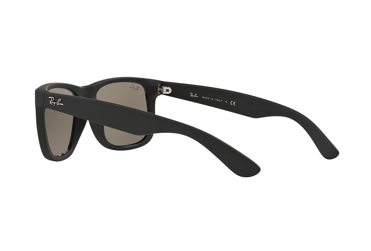 Ray Ban Justin Rubber Black lente Mirror Gold cod. RB4165 622/5A 54 - Image 4