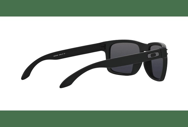 Oakley Holbrook Matte Black lente Black Iridium cod. OO9102-6355 - Image 8