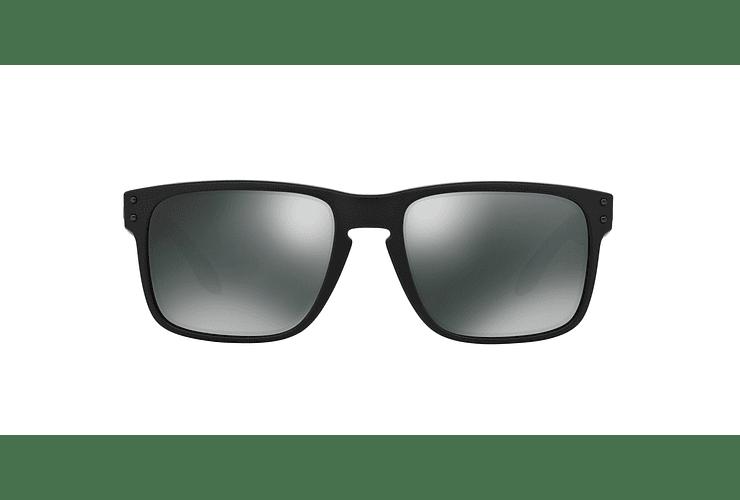 Oakley Holbrook Matte Black lente Black Iridium cod. OO9102-6355 - Image 12