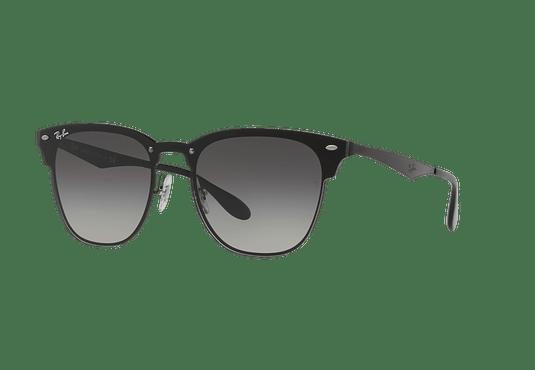 Ray Ban Blaze Clubmaster Gold / black lente Dark Grey Gradient cod. RB3576N 153/11 47