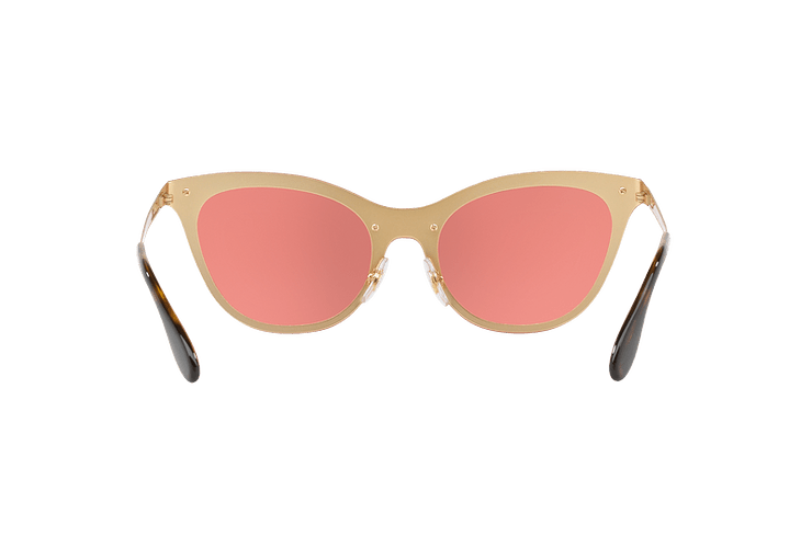 Ray Ban Blaze Cats Brusched Gold lente Pink Mirror cod. RB3580N 043/E4 43 - Image 6