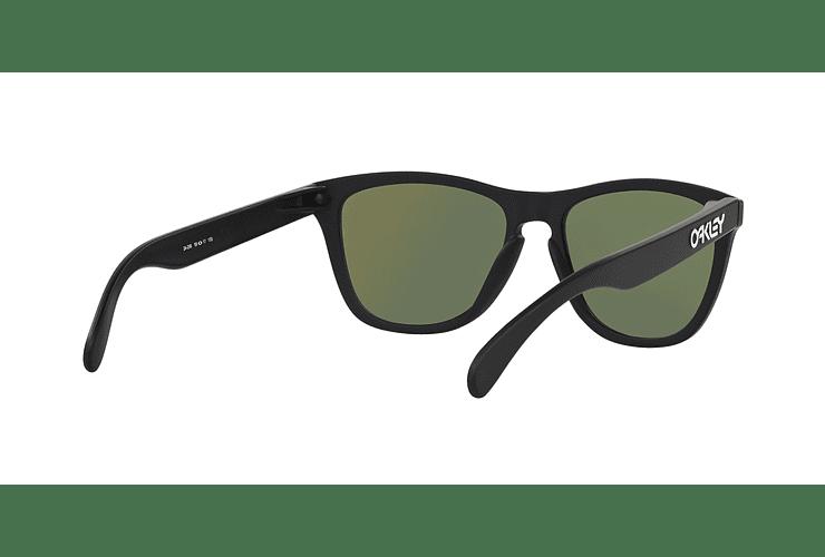 Oakley Frogskins Matte Black lente Violet Iridium cod. 24-298 - Image 7