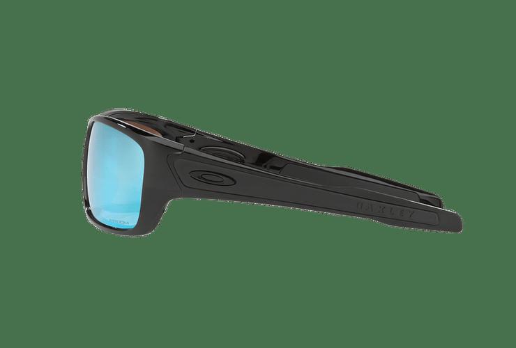 Oakley Turbine Polished Black lente Deep H2O Prizm y Polarized cod. OO9263-1463 - Image 3