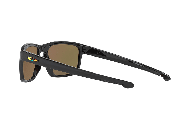 Oakley Sliver Ed. Especial Valentino Rossi Polished Black lente Fire Iridium cod. OO9262-2757 - Image 4