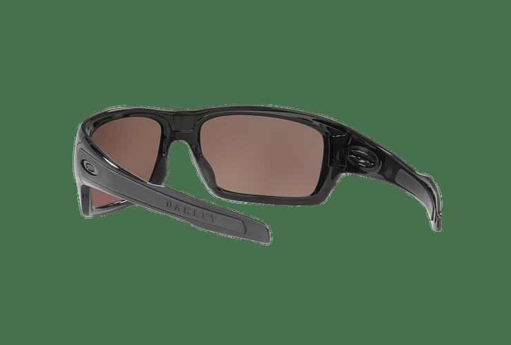 Oakley Turbine Polished Black lente Deep H2O Prizm y Polarized cod. OO9263-1463 - Image 5