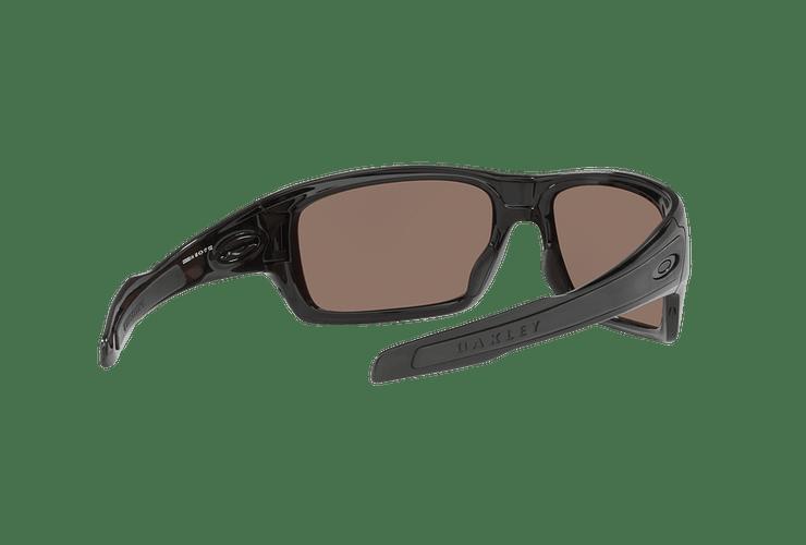 Oakley Turbine Polished Black lente Deep H2O Prizm y Polarized cod. OO9263-1463 - Image 7