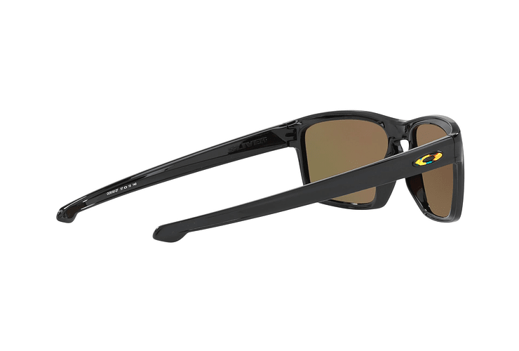 Oakley Sliver Ed. Especial Valentino Rossi Polished Black lente Fire Iridium cod. OO9262-2757 - Image 8