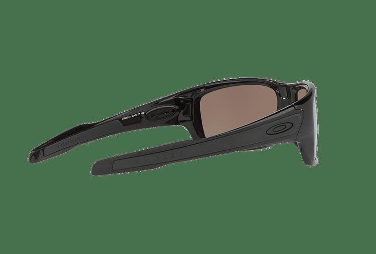 Oakley Turbine Polished Black lente Deep H2O Prizm y Polarized cod. OO9263-1463 - Image 8
