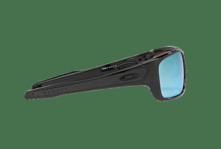 Oakley Turbine Polished Black lente Deep H2O Prizm y Polarized cod. OO9263-1463 - Image 9