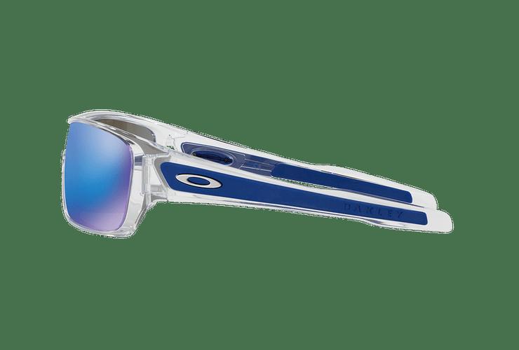 Oakley Turbine Rotor Polished Clear lente Sapphire Iridium cod. OO9307-1032 - Image 3