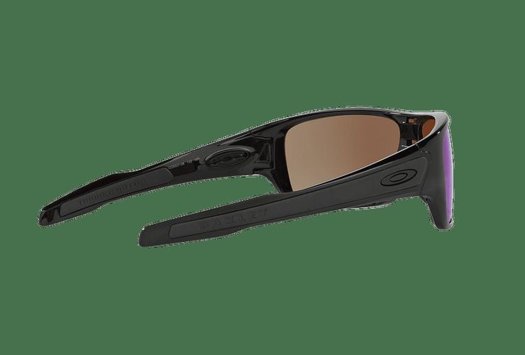 Oakley Turbine Rotor Polished Black lente Deep WATER Prizm y Polarized cod. OO9307-0832 - Image 8
